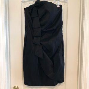🆕Torrid Strapless Black Dress